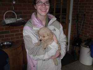 One of the best days ever: when we picked Tucker out!